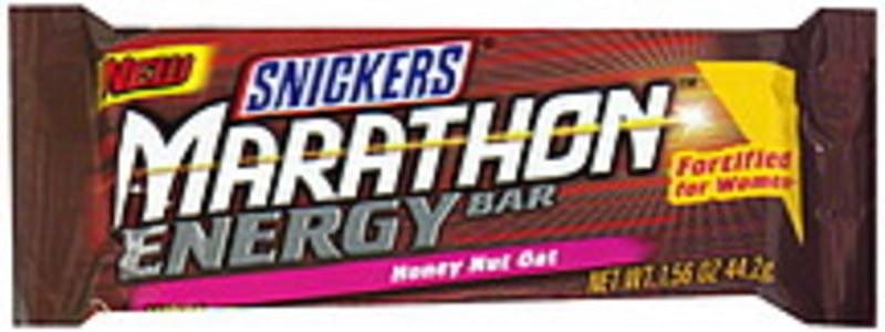 Snickers Energy Bar Honey Nut Oat