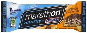Snickers Energy Bar Crunchy Dark Chocolate