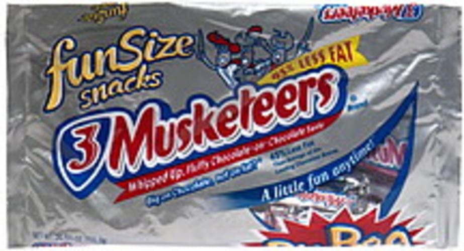 3 Musketeers Fun Size Snacks, Big Bag