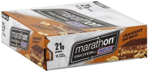 Snickers Chocolatey Nut Burst, Value Pack Protein Bar - 6 ea