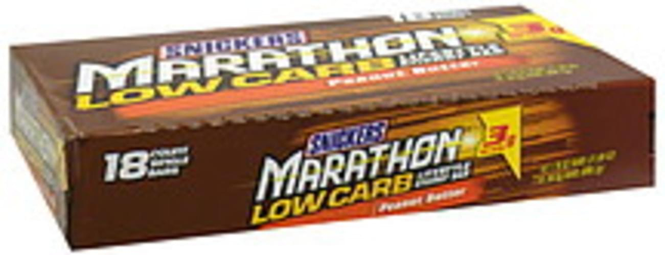Snickers Low Carb, Peanut Butter Energy Bar - 18 ea