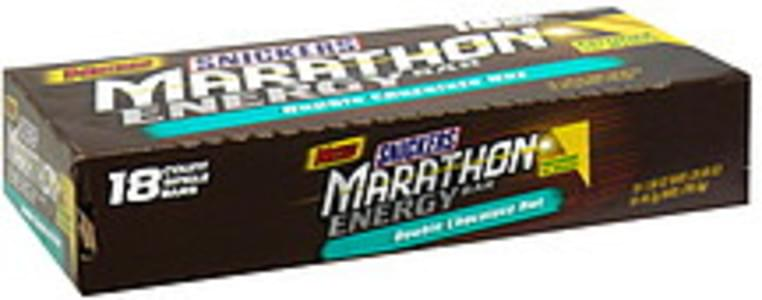 Snickers Energy Bar Double Chocolate Nut