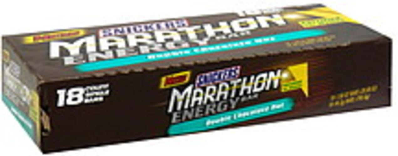 Snickers Double Chocolate Nut Energy Bar - 18 ea