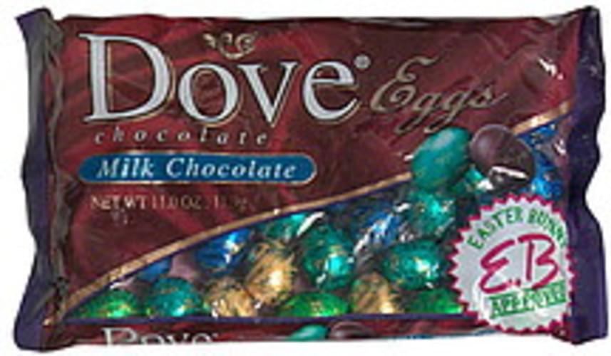 Dove Milk Chocolate Eggs - 11 oz