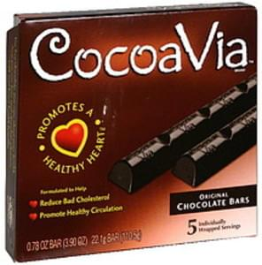 CocoaVia Chocolate Bars Original
