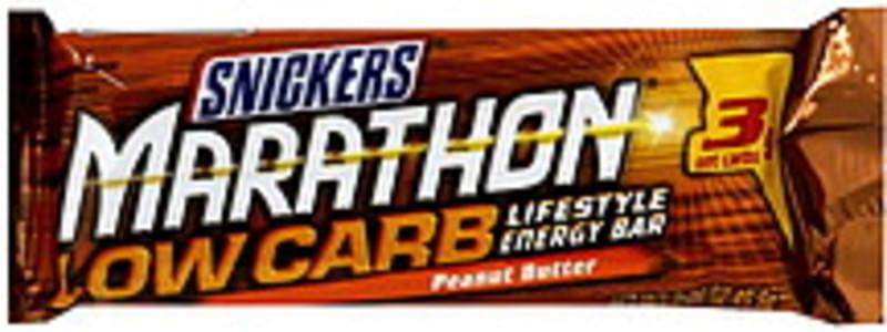 Snickers Energy Bar Low Carb Lifestyle, Peanut Butter