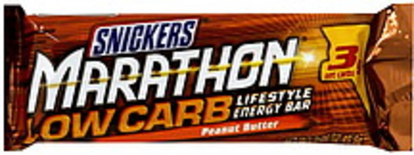 Snickers Low Carb Lifestyle, Peanut Butter Energy Bar - 1.76 oz