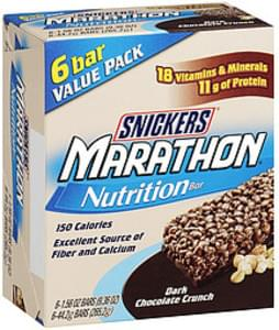 Snickers Nutrition Bar Marathon