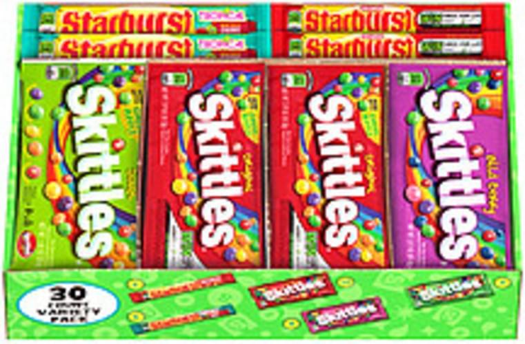 Skittles Variety Pack Starburst/Skittles Candy - 62 42 oz