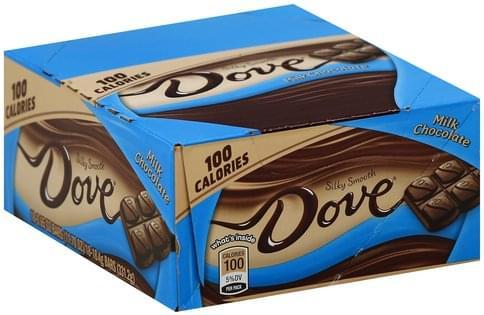 Dove Silky Smooth Milk Chocolate - 18