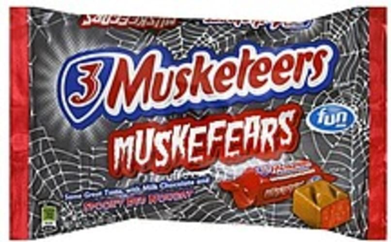 3 Musketeers Muskefears, Fun Size Candy