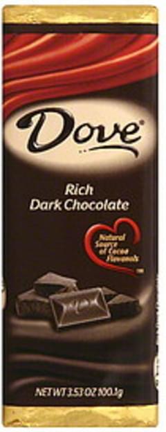 Dove Dark Chocolate Rich