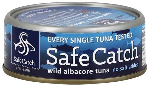 Safe Catch Wild Albacore Tuna - 5 oz
