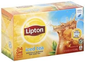 Lipton Iced Tea One Gallon Tea Bags