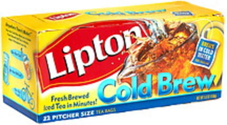 Lipton Pitcher Size Iced Tea - 22 ea