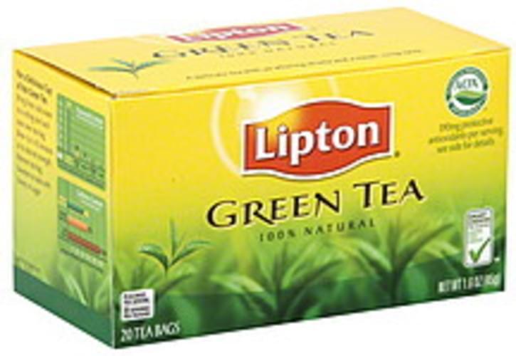 Lipton Green Tea - 20 ea