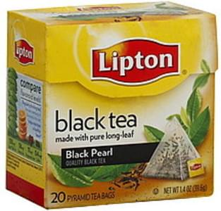Lipton Black Tea Black Pearl, Pyramid Tea Bags