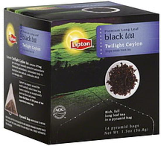 Lipton Twilight Ceylon Black Tea - 14 ea