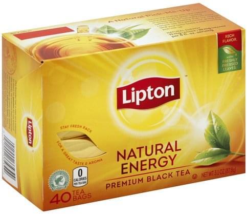 Natural Energy, Tea Bags Black Tea