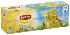 Lipton Iced Tea Green Tea, Family Size Tea Bags
