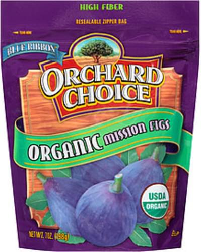 Blue Ribbon Orchard Choice Organic Mission Figs - 7 oz