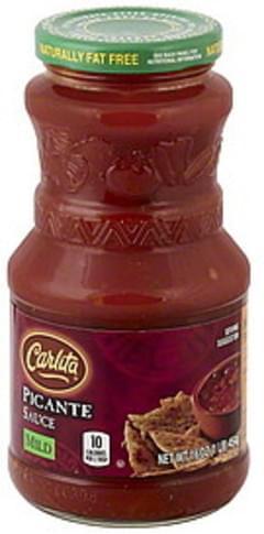Carlita Picante Sauce Mild
