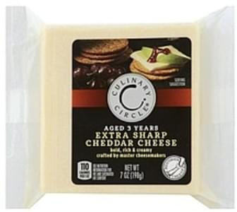 Culinary Circle Cheese Extra Sharp Cheddar