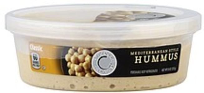 Culinary Circle Hummus Mediterranean Style, Classic