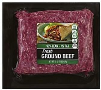 Cub Beef Fresh, Ground, 93/7