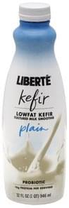 Liberte Kefir Lowfat, Plain
