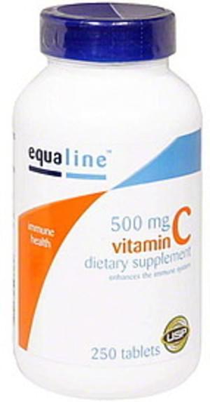 Equaline 500 mg, Tablets Vitamin C - 250 ea