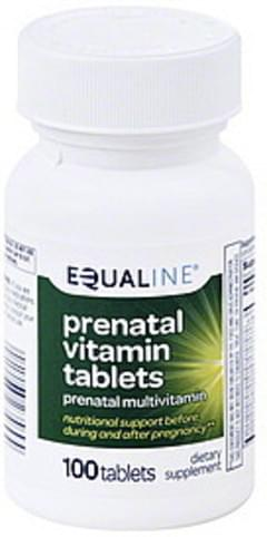 Equaline Prenatal Vitamin Tablets