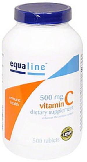 Equaline 500 mg, Tablets Vitamin C - 500 ea