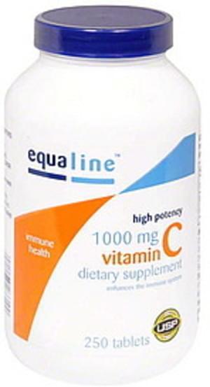Equaline 1000 mg, Tablets Vitamin C - 250 ea