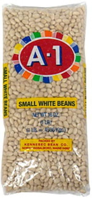 A 1 Small White Beans - 16 oz