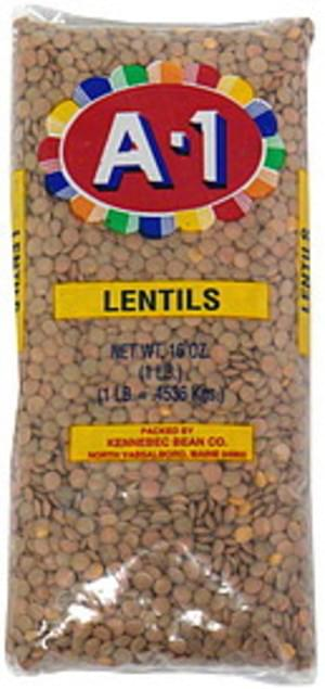 A 1 Lentils - 16 oz
