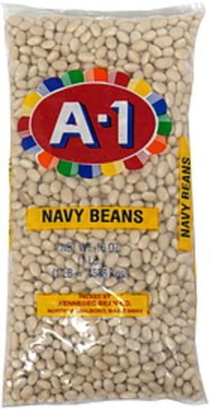 A 1 Navy Beans - 16 oz