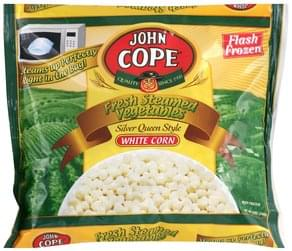 John Copes White Corn Fresh Steamed Vegetables