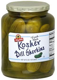 ShopRite Gherkins Kosher Dill, Fresh Pack
