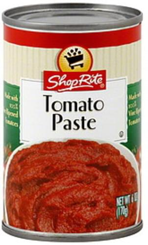 ShopRite Tomato Paste - 6 oz