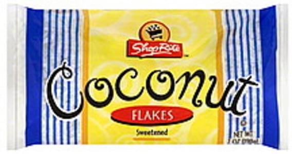 ShopRite Coconut Flakes, Sweetened