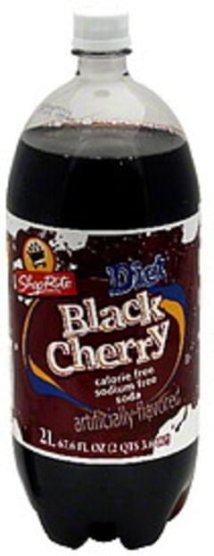 ShopRite Soda Diet Black Cherry