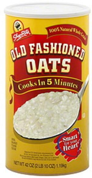 ShopRite Old Fashioned Oats - 42 oz
