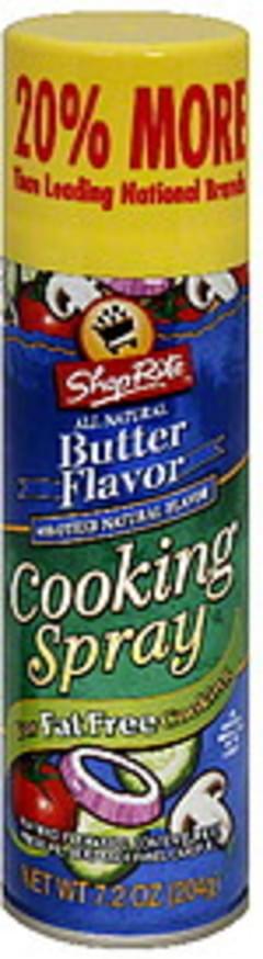 ShopRite Cooking Spray Butter Flavor