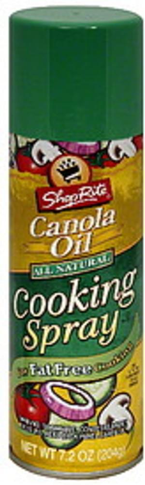ShopRite Canola Oil Cooking Spray - 7.2 oz