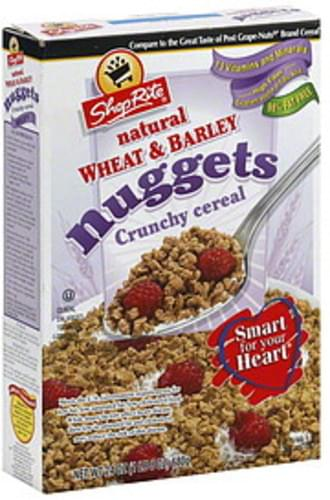 ShopRite Crunchy, Wheat & Barley Nuggets Cereal - 24 oz