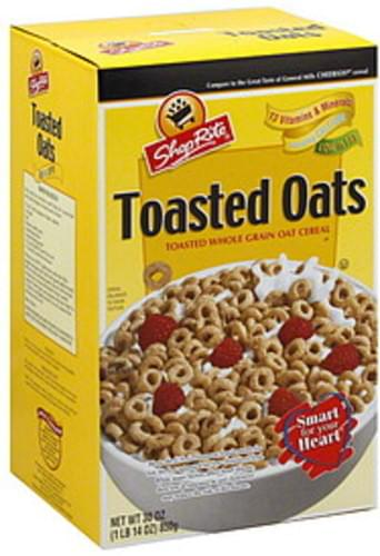 ShopRite Toasted Oats Cereal - 30 oz