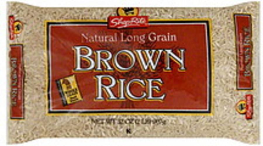 ShopRite Natural Long Grain Brown Rice - 32 oz