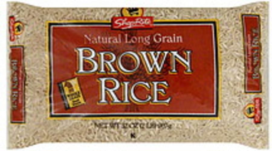 ShopRite Natural Long Grain Brown Rice - 32 oz