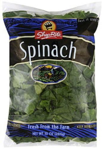 ShopRite Spinach - 10 oz